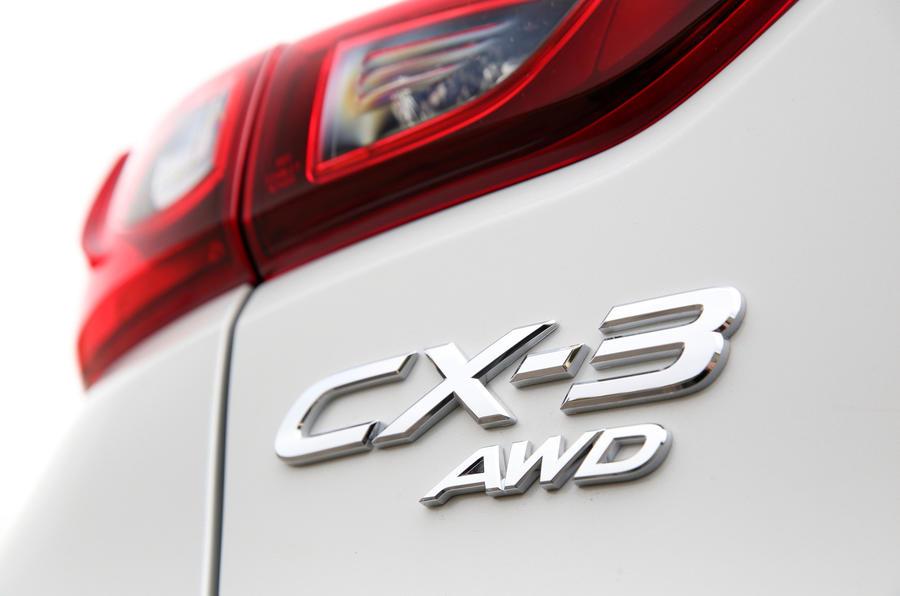 Mazda CX-3 rear lights