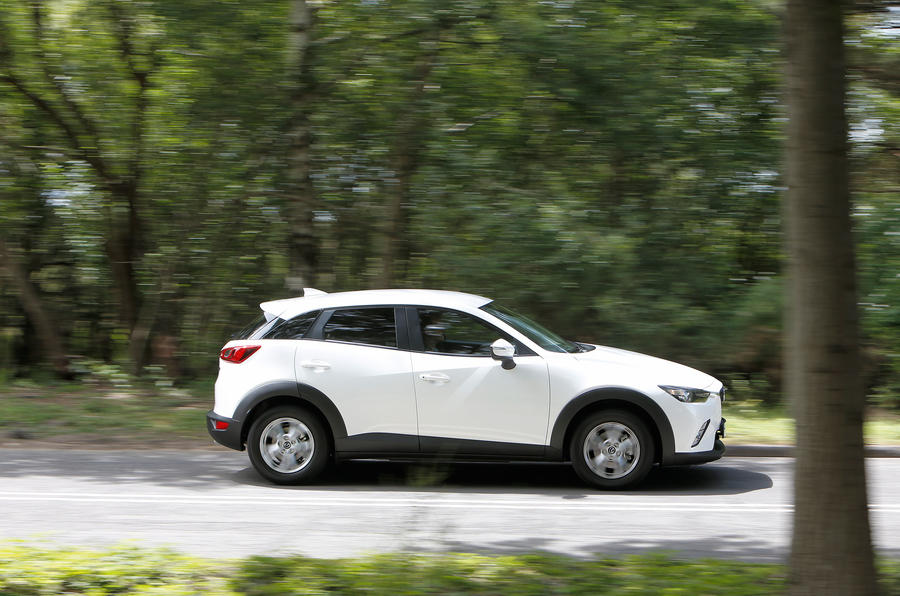 Mazda CX-3 side profile