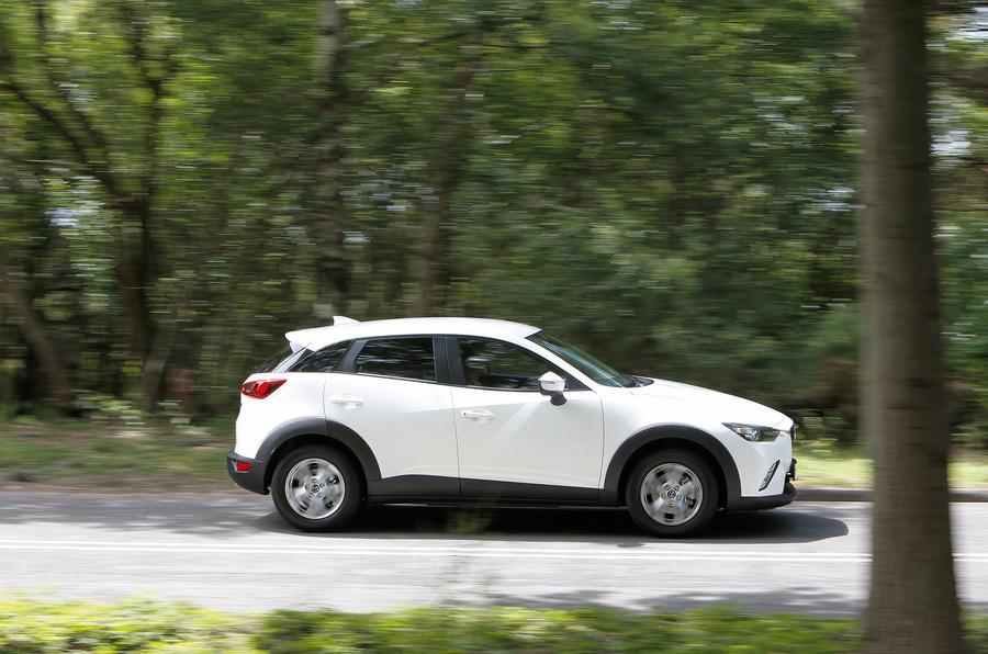 Mazda CX-3 side profile