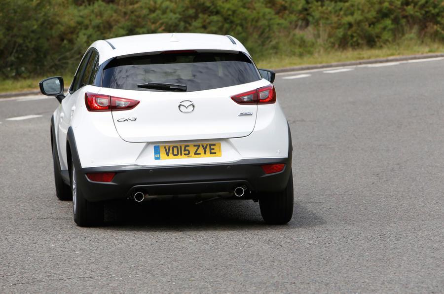 Mazda CX-3 rear cornering