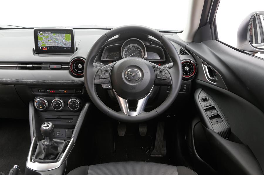 Mazda CX-3 dashboard