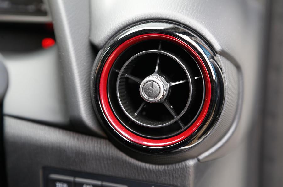 Mazda CX-3 air vents