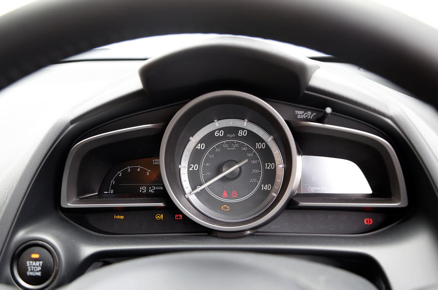 Mazda CX-3 instrument cluster