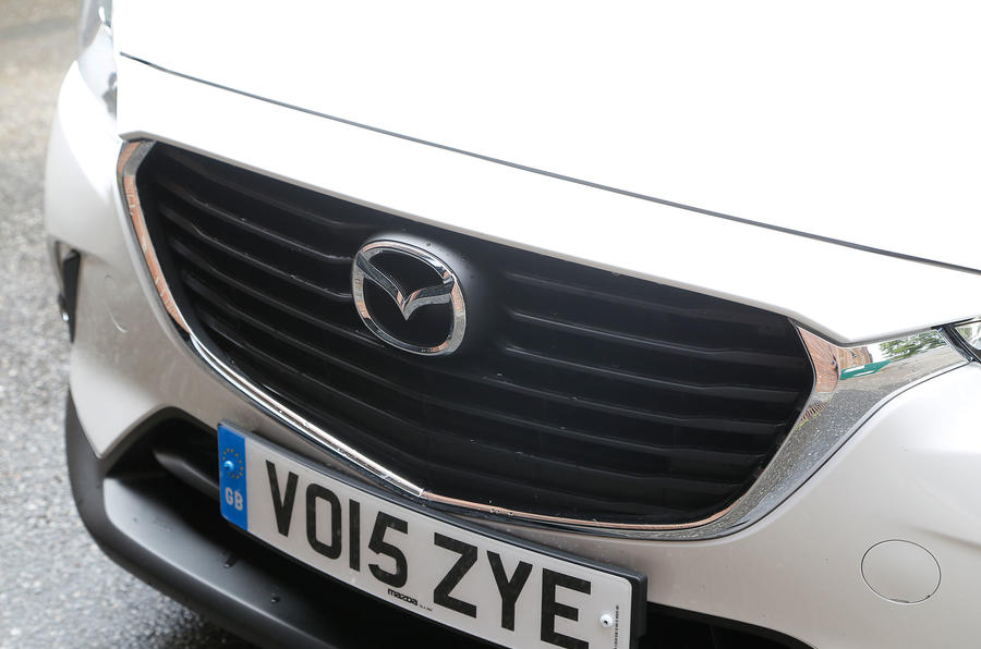 Mazda CX-3 front grille