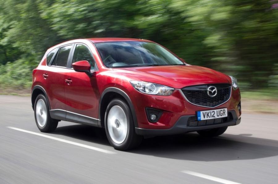 Mazda plans three-strong SUV lineup