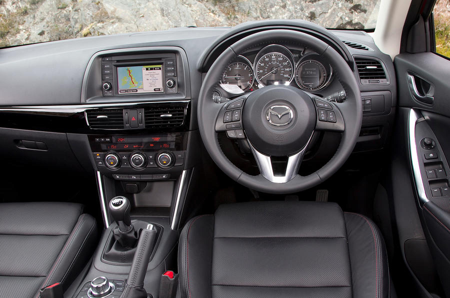 Mazda CX-5 dashboard