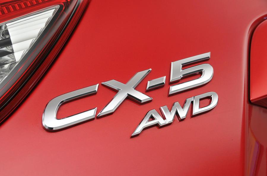 Mazda CX-5 badging