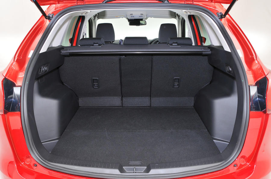 Mazda cx5 boot capacity