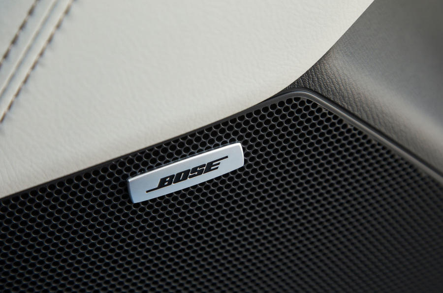 Mazda CX-5 Bose stereo system