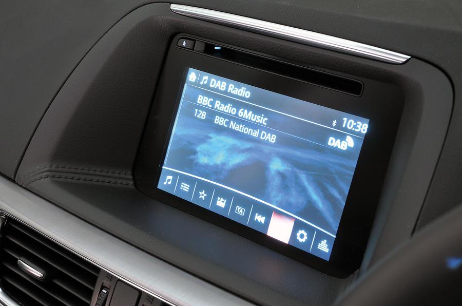 Mazda CX-5 infotainment system