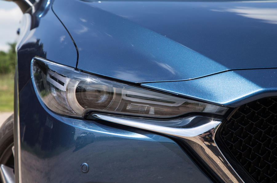 Mazda CX-5 LED headlights