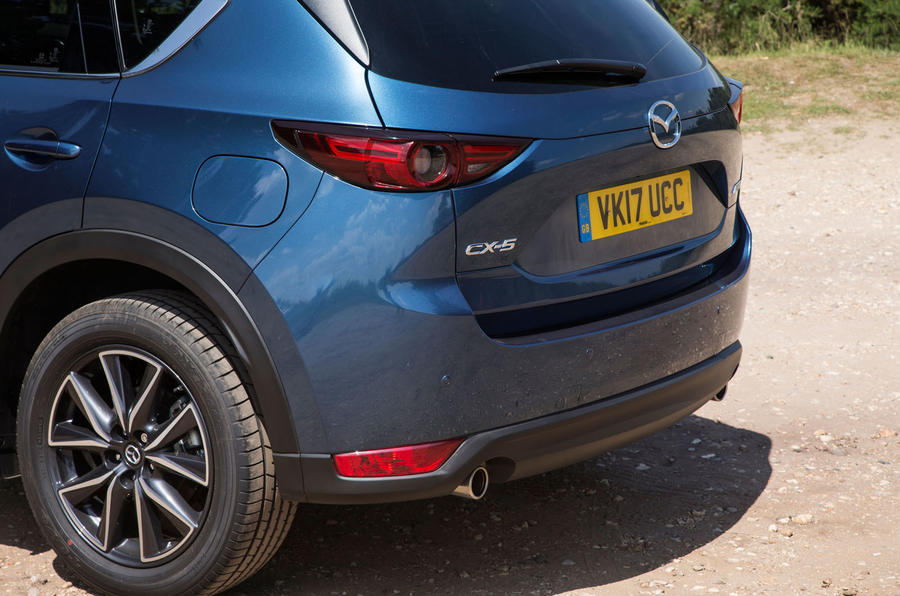 Mazda CX-5 rear end