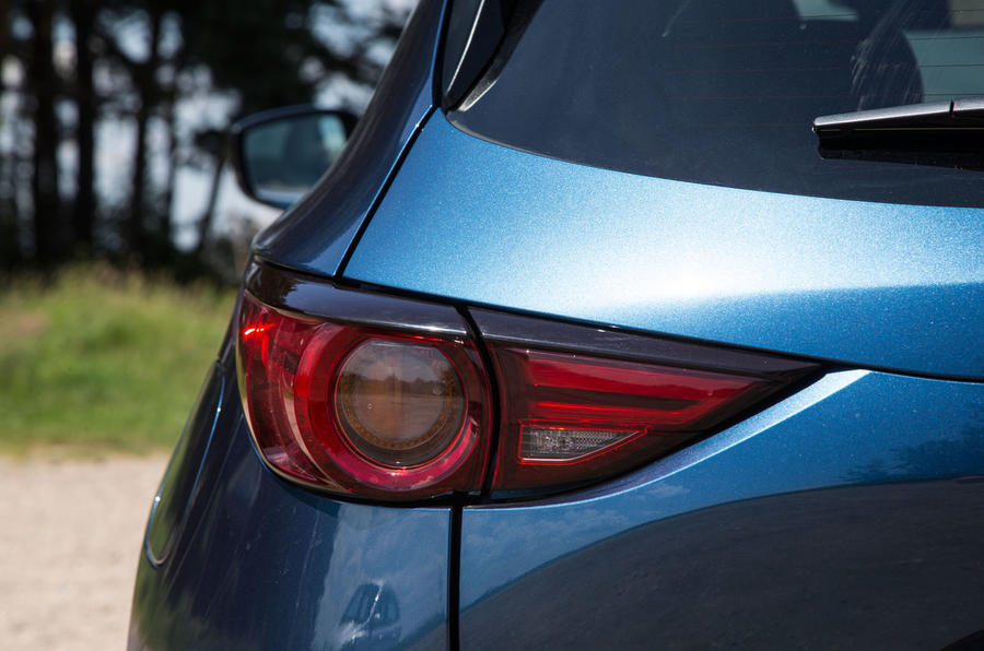 Mazda CX-5 rear lights