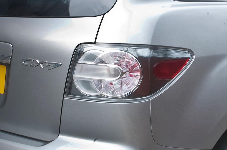 Mazda CX-7 rear lights