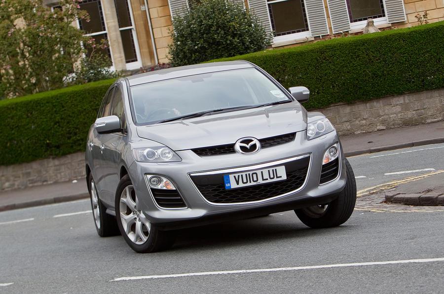 Mazda CX-7 cornering