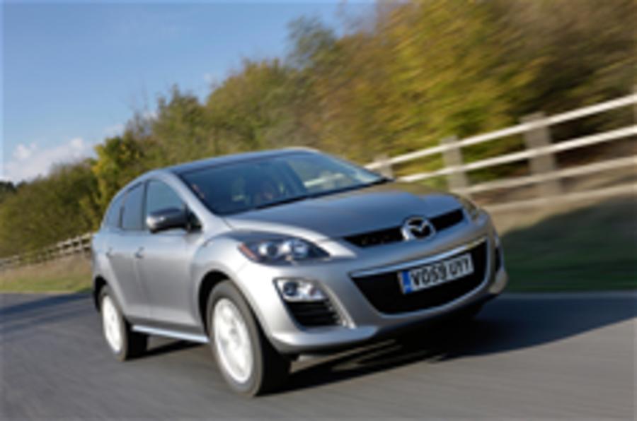 New Mazda CX-7 costs £25,785