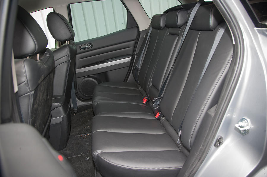 Mazda CX-7 rear seats