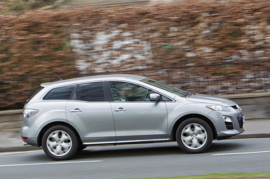 Mazda CX-7 side profile