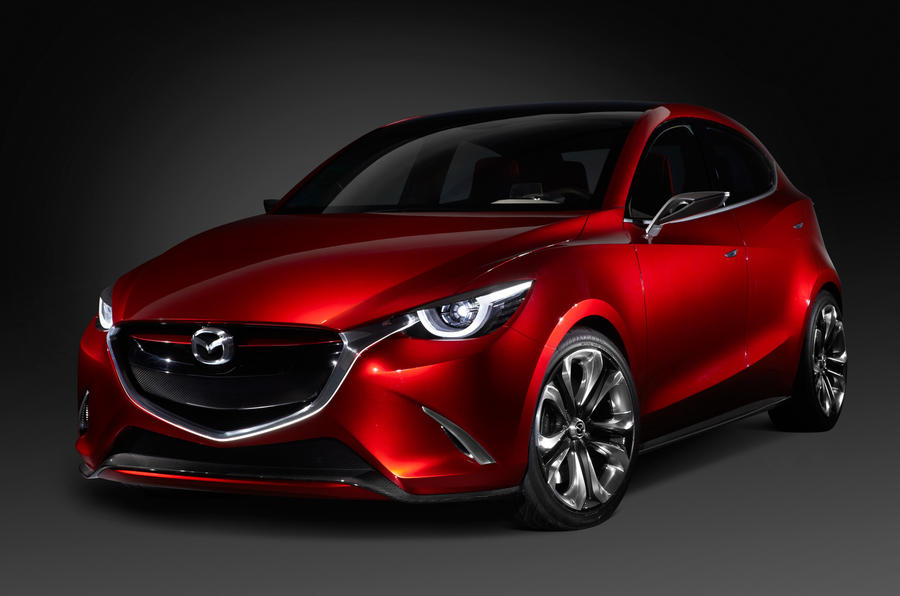 2015 Mazda 2 previewed in Hazumi concept