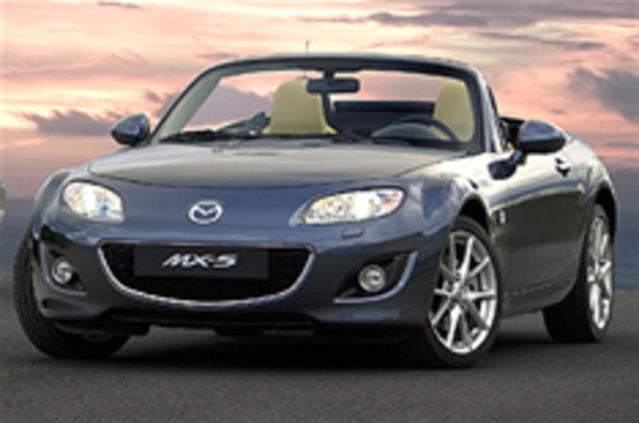 Mazda MX-5 gets lighter