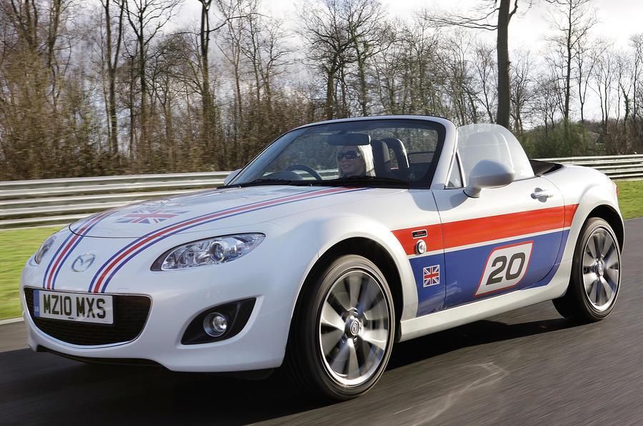 Mazda MX-5 anniversary pics