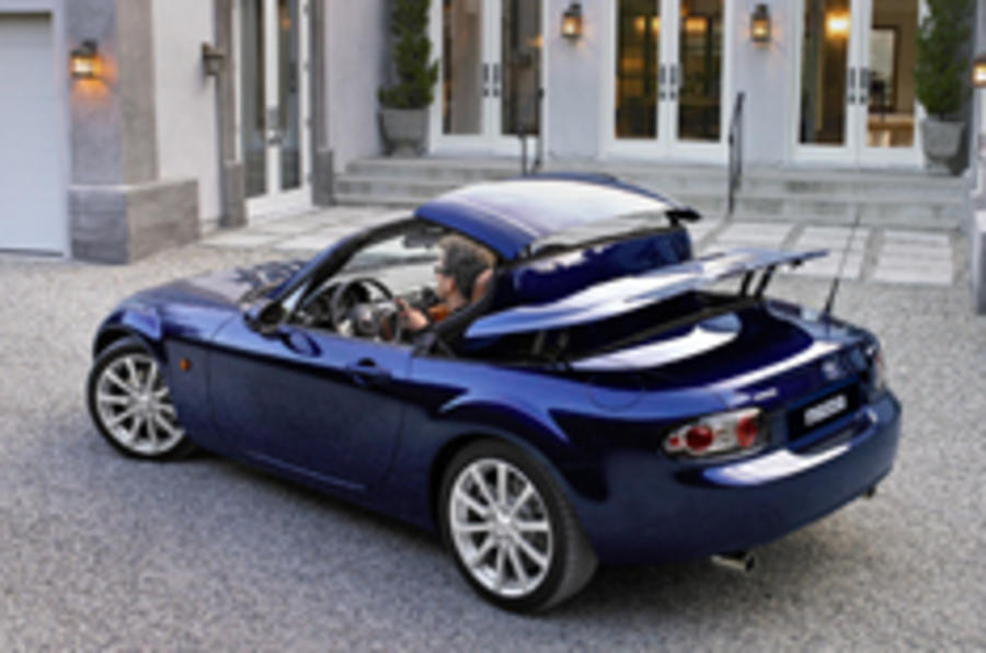 Mazda opens lid on folding hard-top MX-5