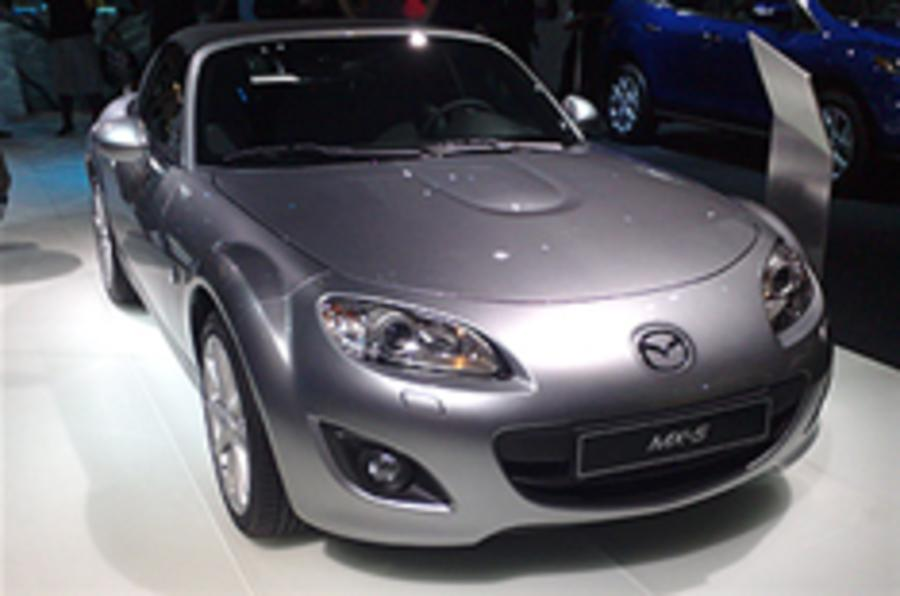 Paris show: Mazda MX-5