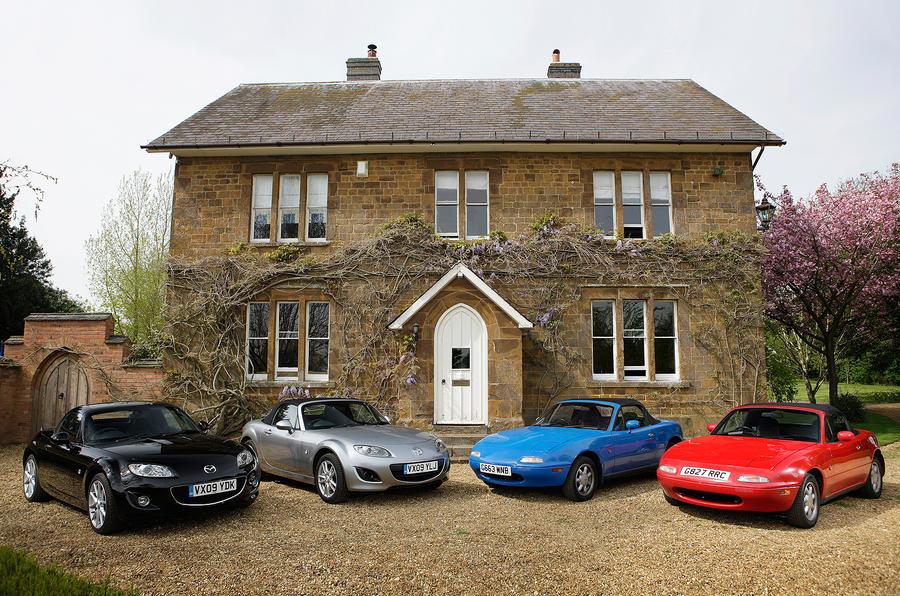 Mazda sells 100,000th UK MX-5