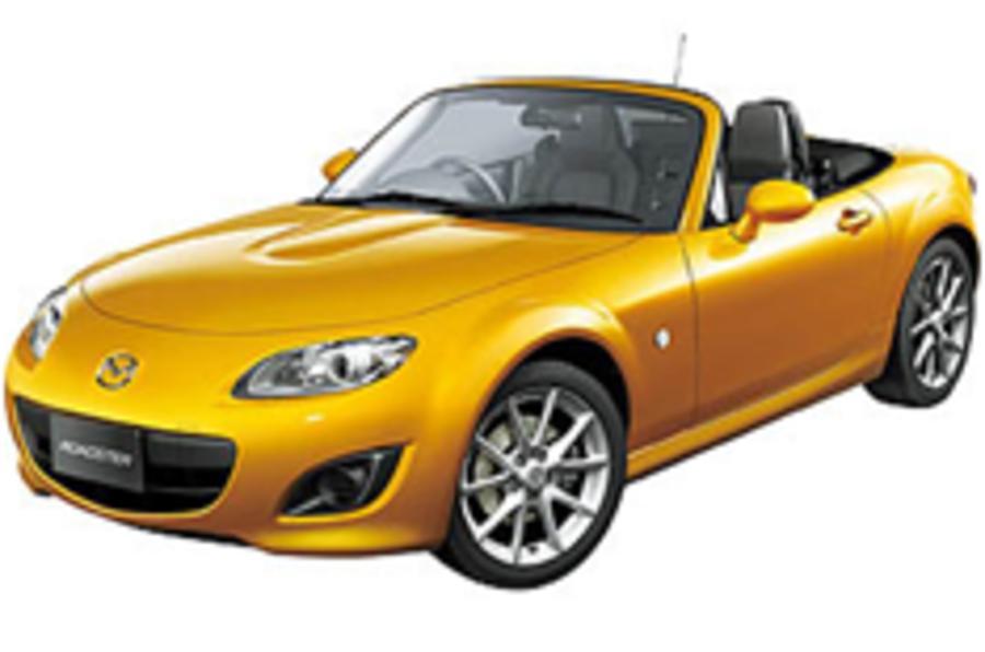 New Mazda MX-5 in Japan