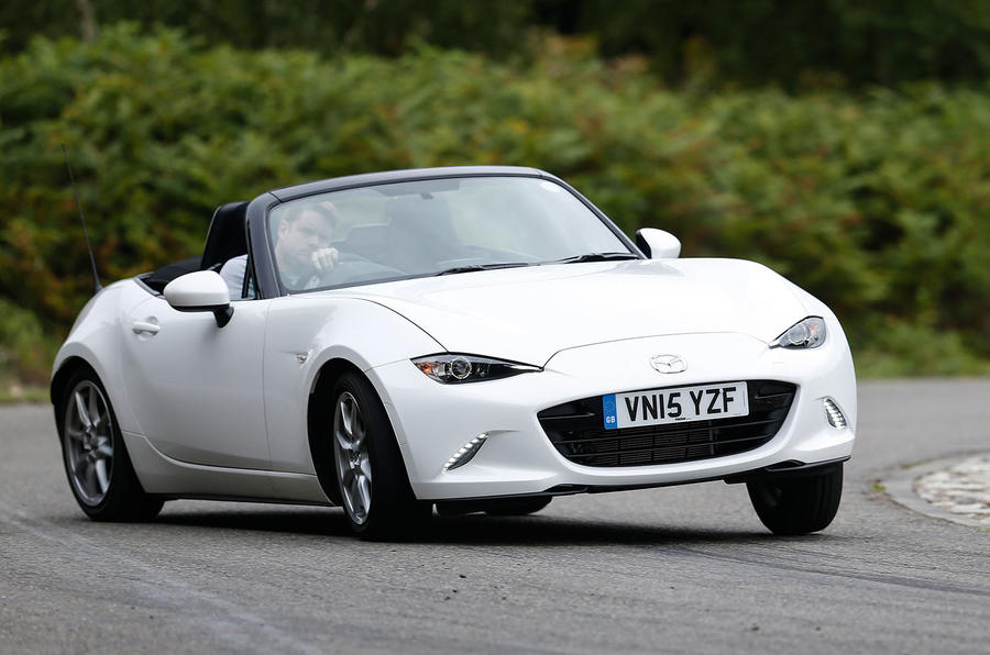 The outstanding 4.5 star Mazda MX-5