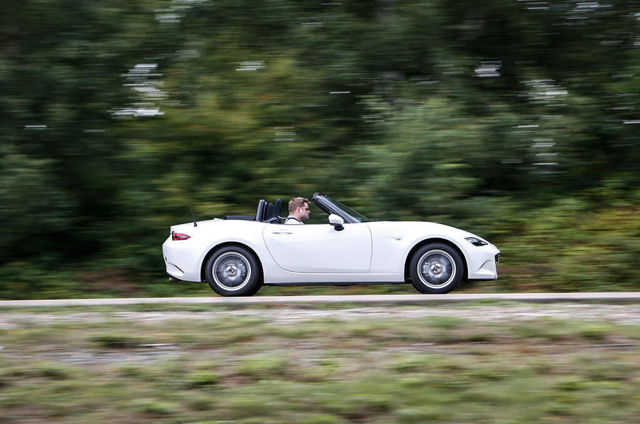Caterham, Lotus and Ariel's best would struggle to match the Mazda MX-5's offering