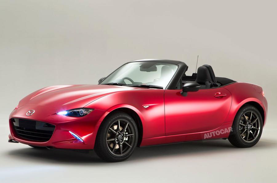 High Quality New Mazda MX 5   Exclusive Studio Pictures