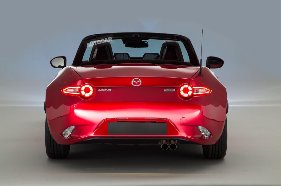 New Mazda MX-5 - exclusive studio pictures