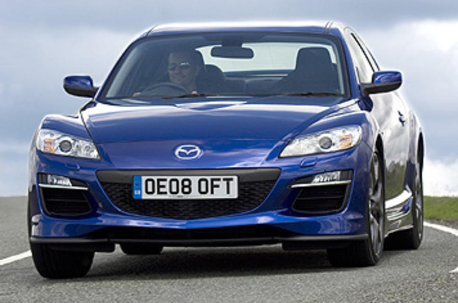 Mazda kills off RX-8 sports coupe