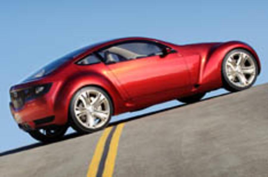 Mazda's 3+1 coupé concept