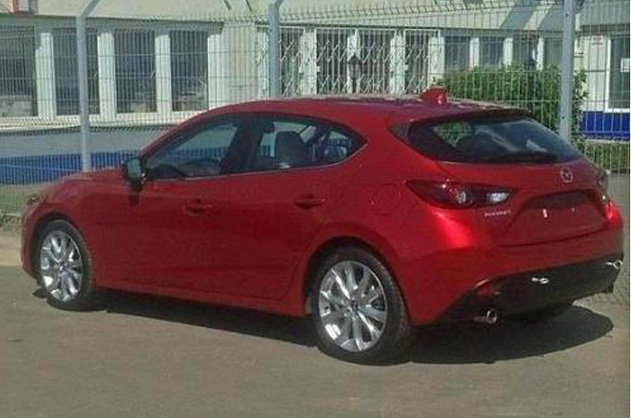 New Mazda 3 - latest spy shots