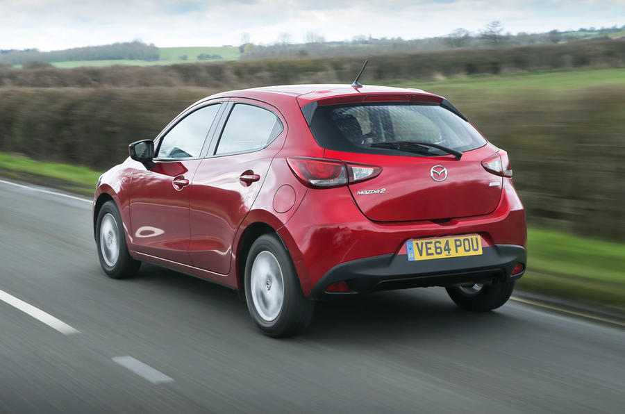 Our test Mazda 2 comes in SE-L Nav spec with the 1.5-litre Skyactiv engine