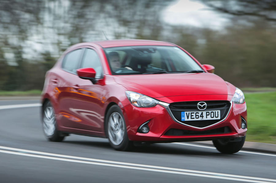 Long-gearing and lack of mid-range torque make climbing inclines in the Mazda 2 difficult