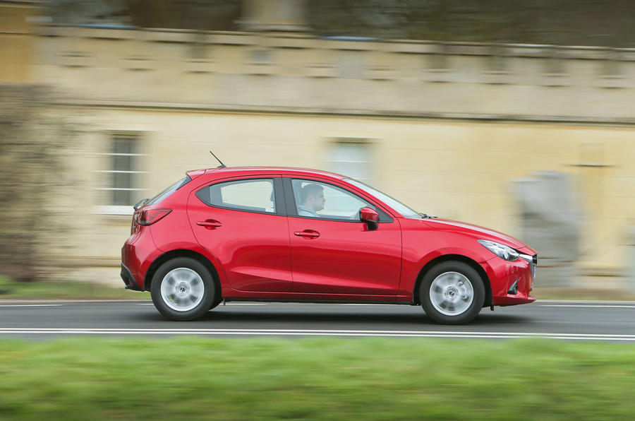 The Mazda 2's fluent handling is matched by a compliant ride
