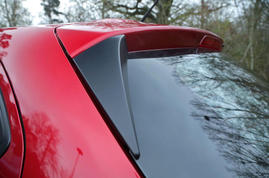 All versions of the Mazda 2 come with a rear spoiler