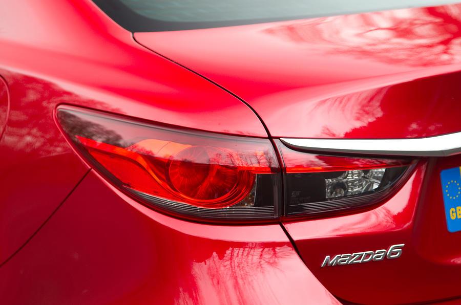 Mazda 6 saloon rear lights