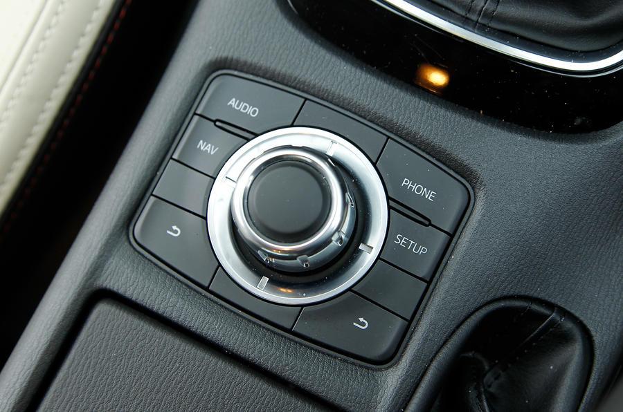 Mazda 6 infotainment controller