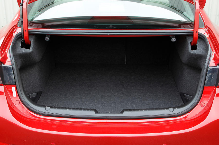 Mazda 6 saloon boot space
