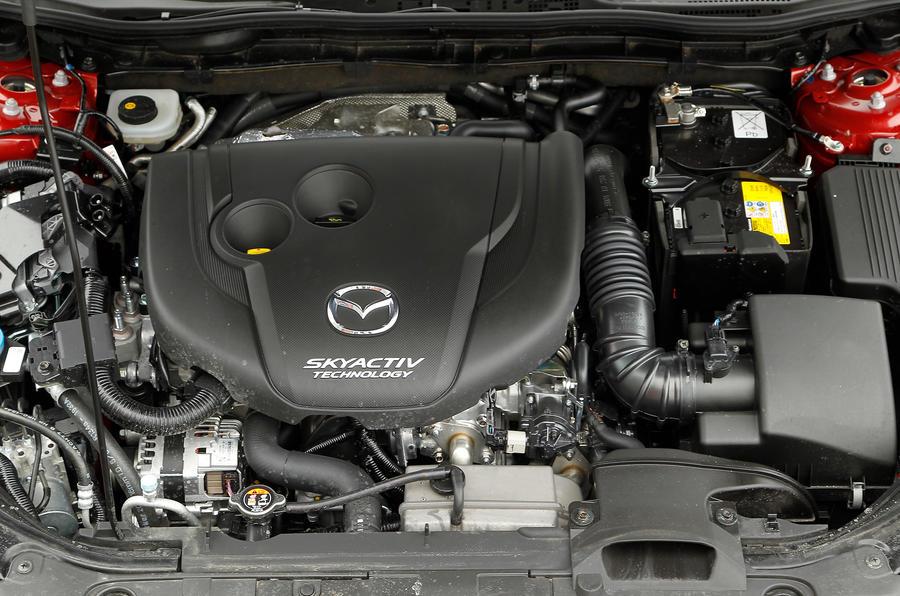 2.2-litre Mazda 6 diesel engine