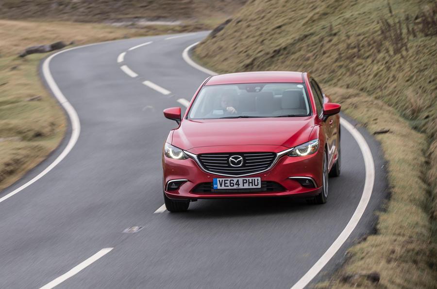 Mazda 6 front end