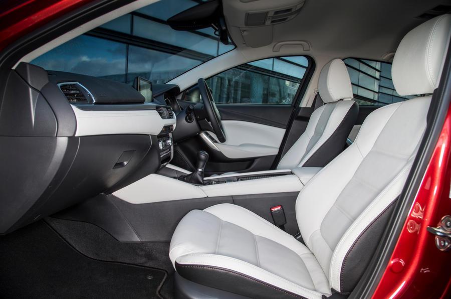 Mazda 6 interior