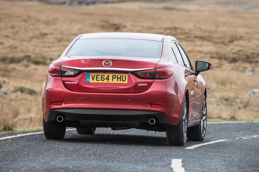 Mazda 6 rear quarter