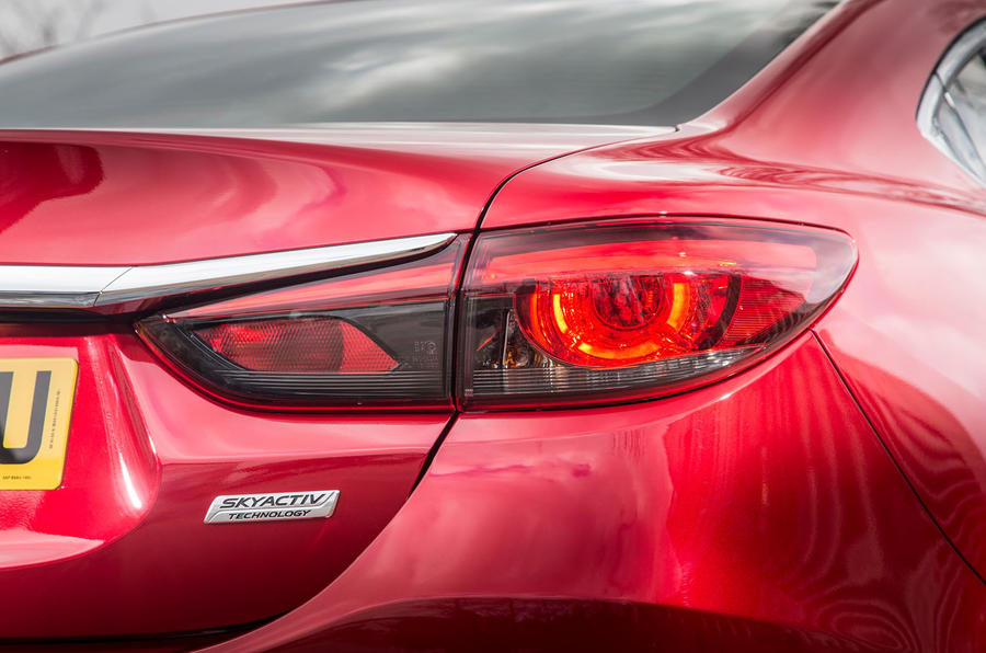 Mazda 6 rear lights