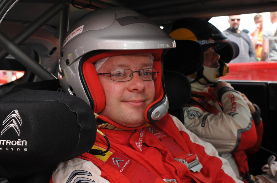 On board with the world's best (former) rally driver