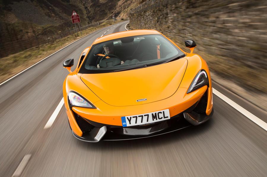 562bhp McLaren 570S sports car